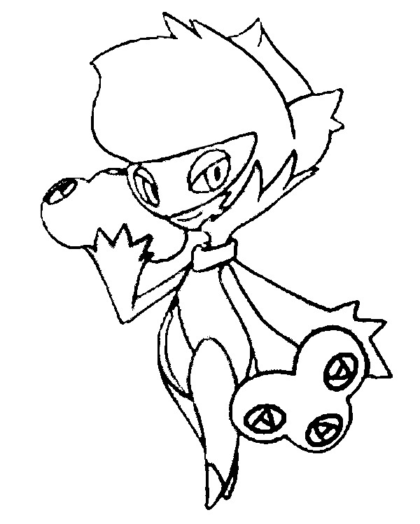 Coloring Pages Pokemon - Roserade - Drawings Pokemon