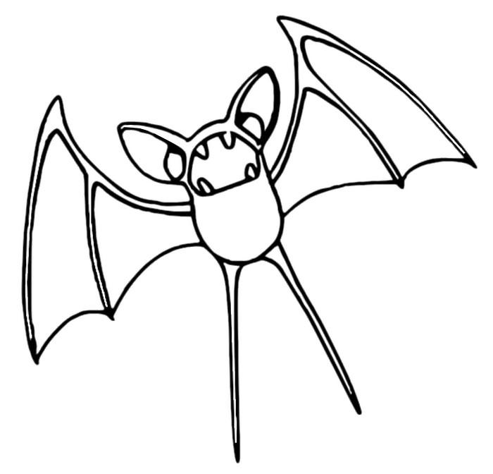 Malvorlagen Pokemon Zubat Zeichnungen Pokemon