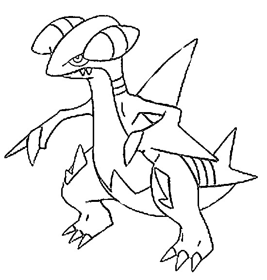 pokemon skarmory coloring pages - photo#11