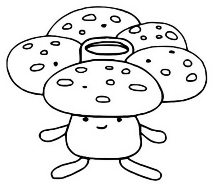 Coloring Pages Pokemon - Vileplume - Drawings Pokemon