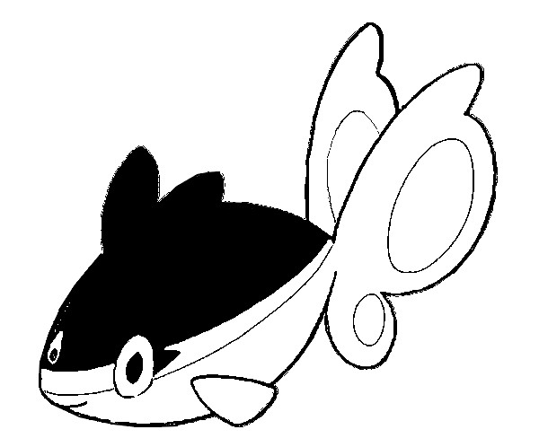 Dibujos Para Colorear Pokemon Finneon Dibujos Pokemon
