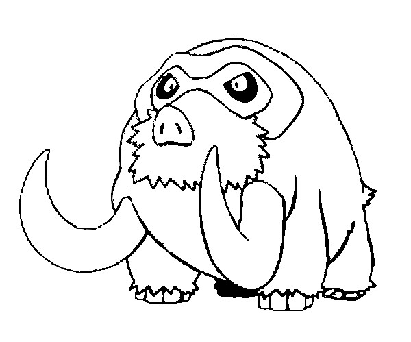 Omalov 225 Nky Pokemon Mamoswine Omalov 225 Nka Pokemon
