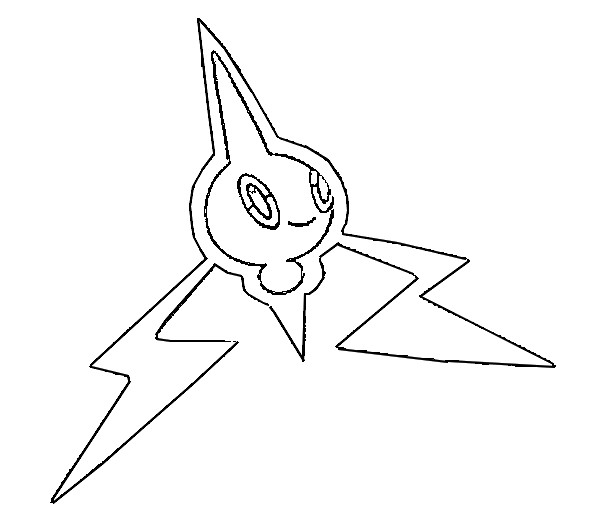 Coloring Pages Pokemon Rotom Drawings Pokemon