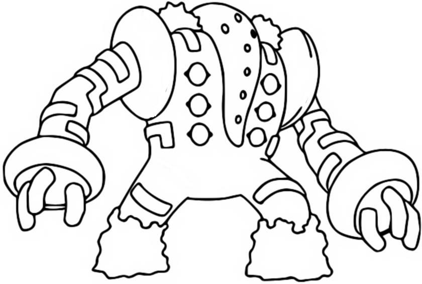malvorlagen pokemon  regigigas  zeichnungen pokemon