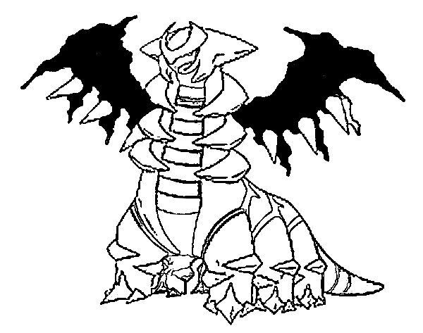 Coloring Pages Pokemon - Giratina - Drawings Pokemon