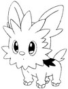Desenhos para colorir Pokemon Desenho para pintar 501-520