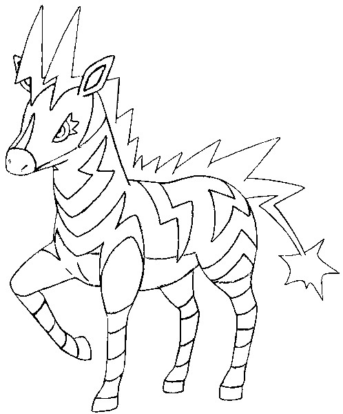 coloring pages pokemon zekrom x - photo#23