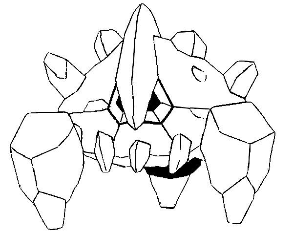 Disegni da colorare Pokemon - Boldore - Disegni Pokemon