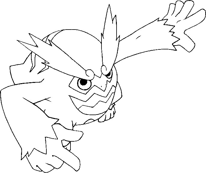 coloring pages darmanitan drawings