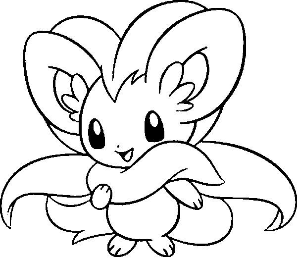 pokemon coloring pages minccino - photo#3