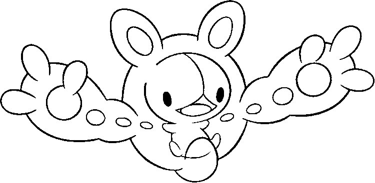 Pokemon Solosis Coloring Pages