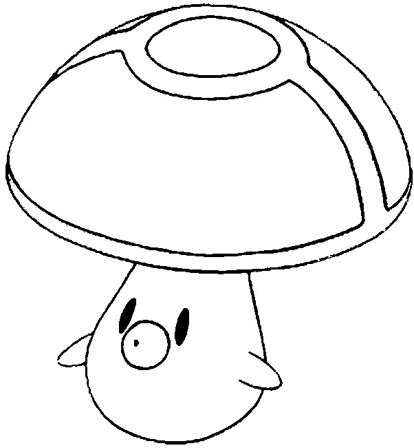 foongus pokemon coloring pages - photo#1