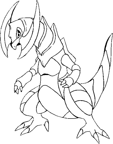 fraxure coloring pages - photo#17