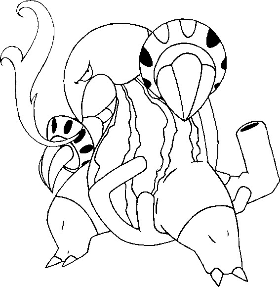 pokemon zygarde coloring pages - photo#23
