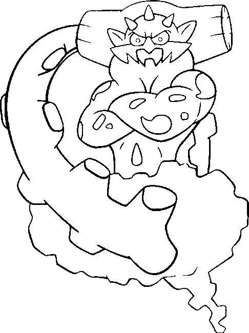 Yveltal Kleurplaat Malvorlagen Pokemon Demeteros Zeichnungen Pokemon