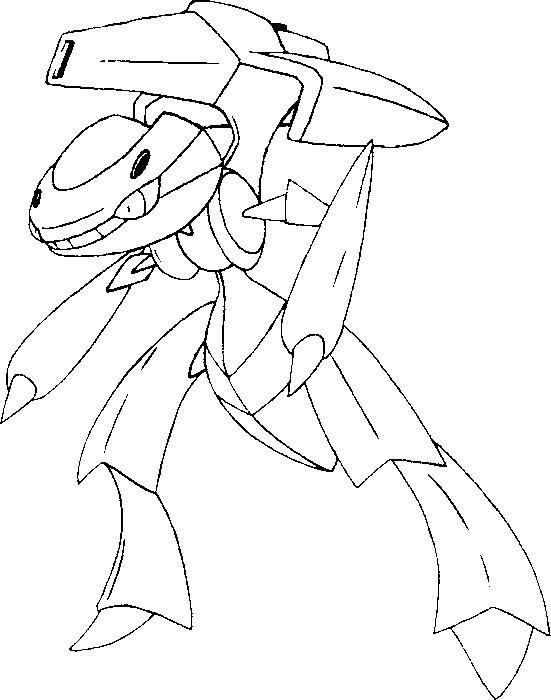 Malvorlagen Pokemon Genesect Zeichnungen Pokemon