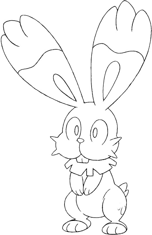 pokemon coloring pages xy - coloring pages pokemon bunnelby drawings pokemon