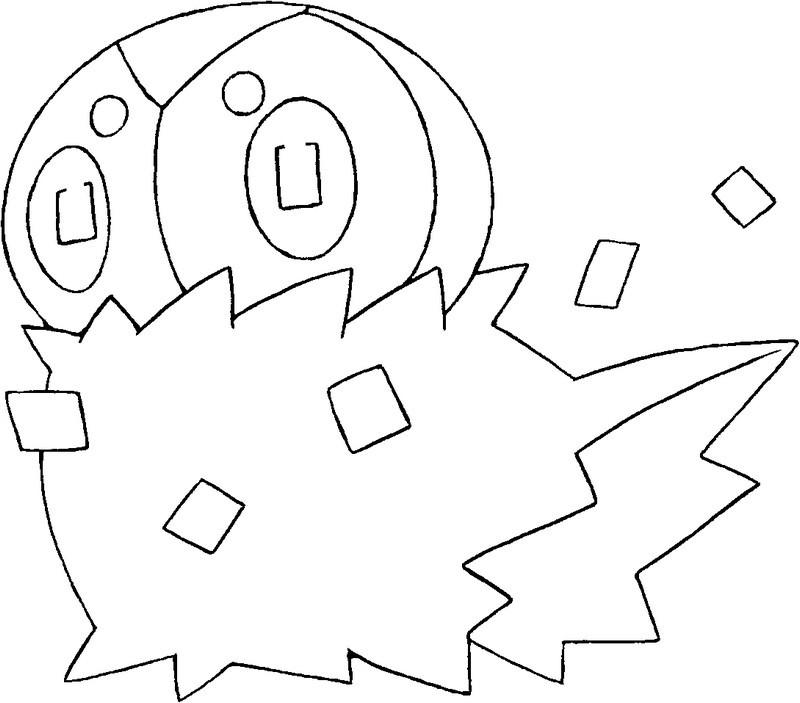 Dibujos Para Colorear Pokemon Spewpa Dibujos Pokemon