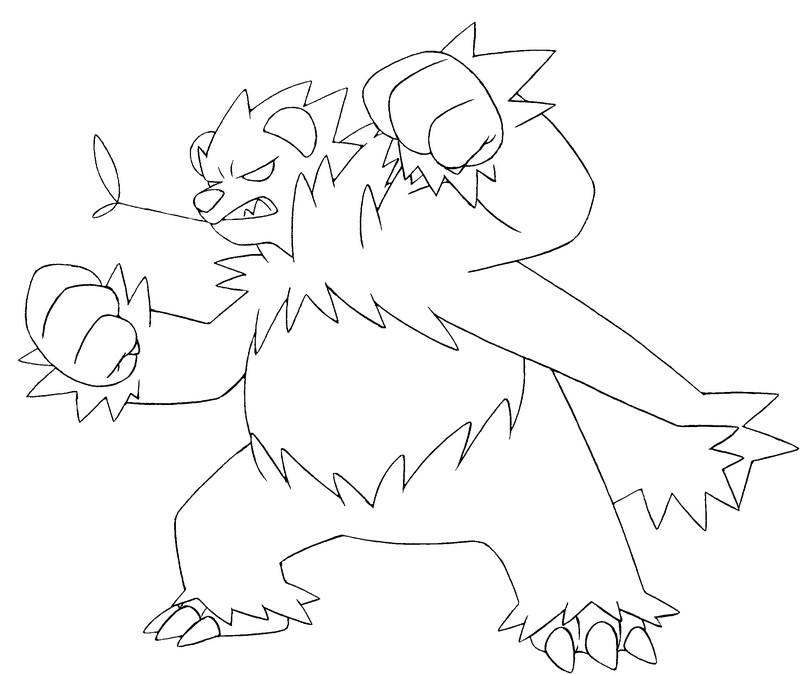 Malvorlagen pokemon pandagro zeichnungen pokemon - Mewtwo pagina da colorare ...