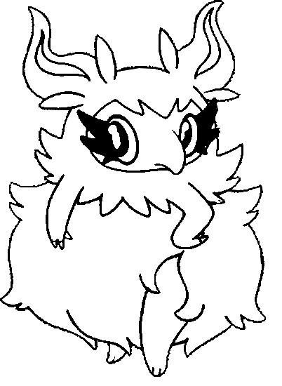 Malvorlagen Pokemon - Parfinesse - Zeichnungen Pokemon