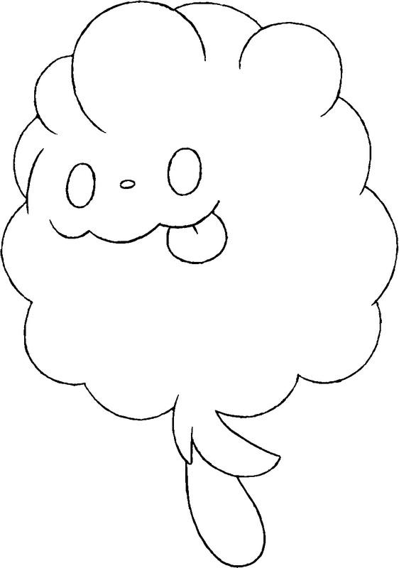 Pokemon Coloring Pages Delphox