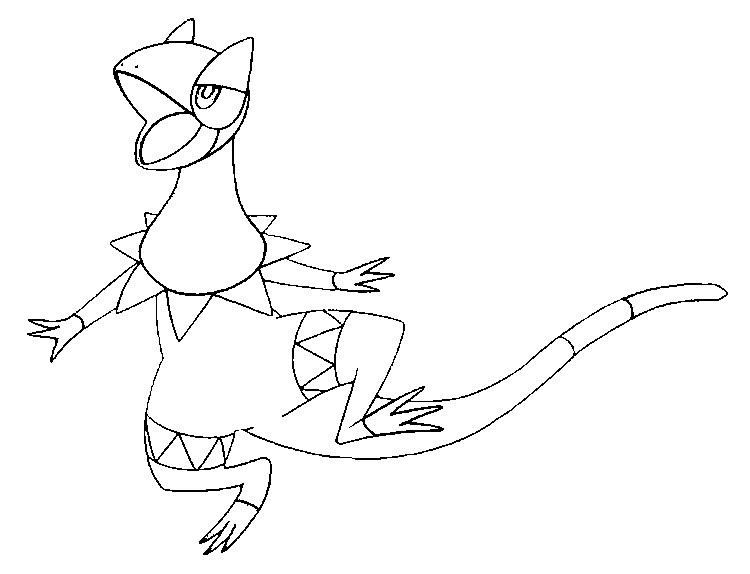 Talonflame Coloring Pages