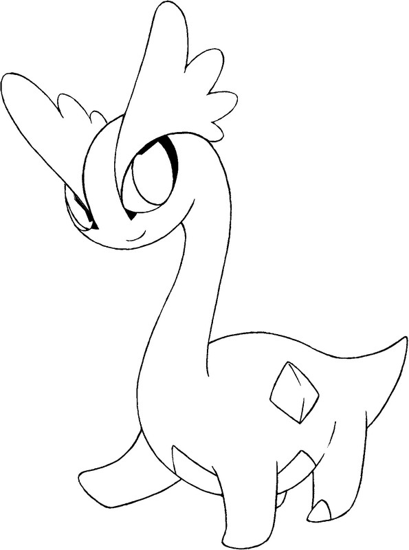 pokemon amaura coloring pages - photo#2