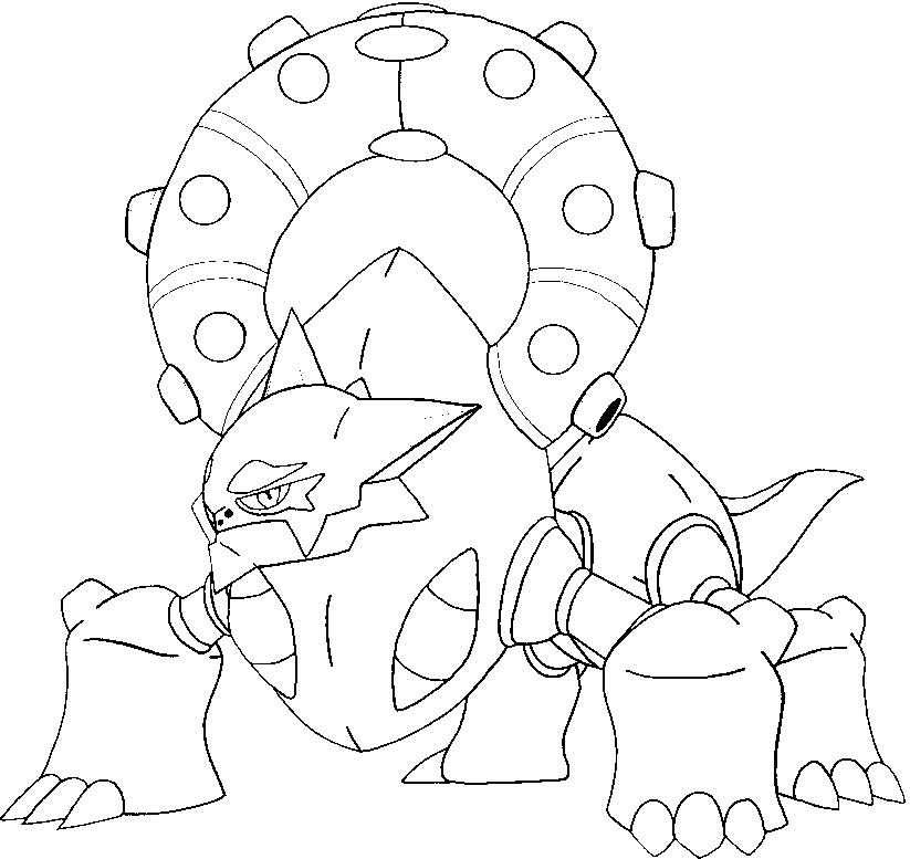 coloring pages volcanion drawings