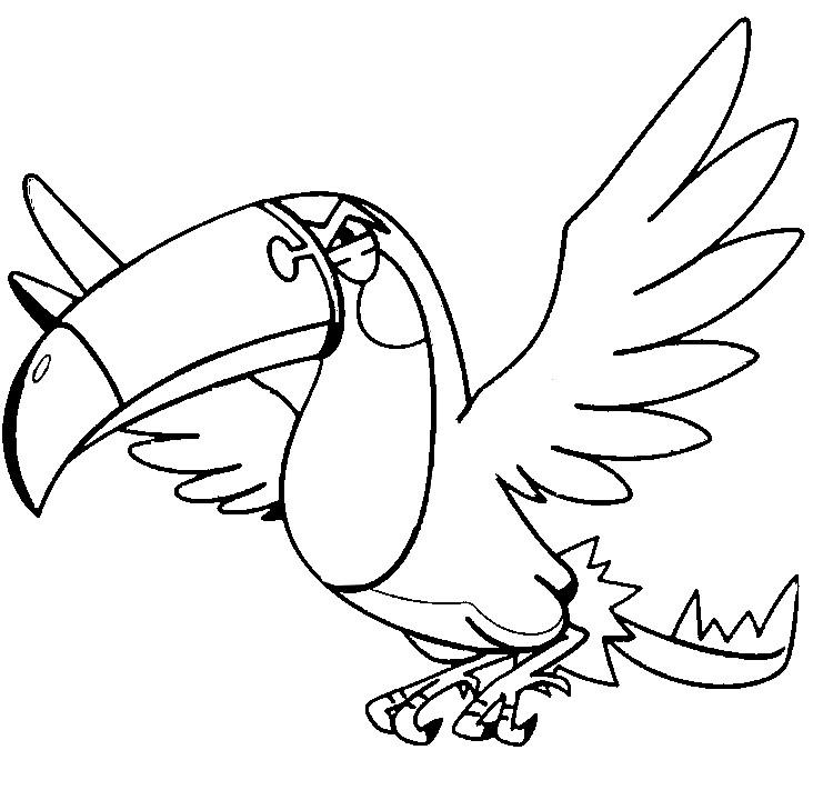 Malvorlagen Pokemon Tukanon Zeichnungen Pokemon