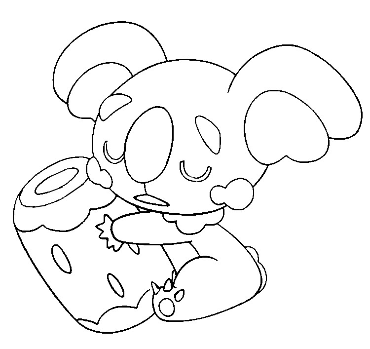 Poppilo Coloring Pages