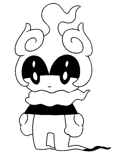 Disegni Da Colorare Pokemon Marshadow Disegni Pokemon