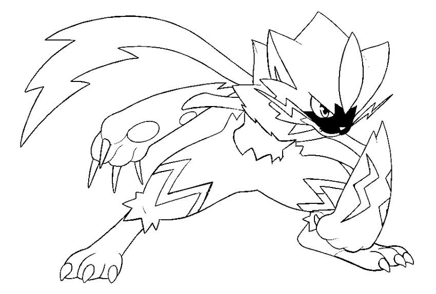 ausmalbilder von pokemon - kostenlos zum ausdrucken
