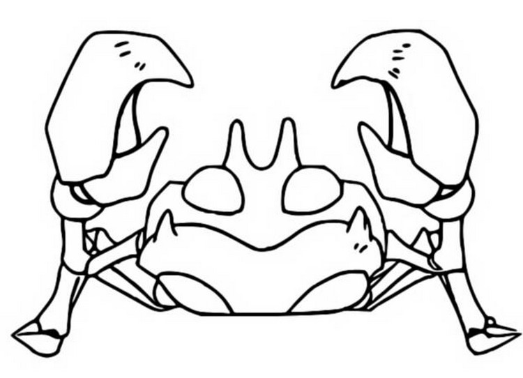 Shellder Coloring Page